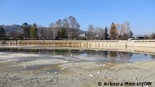 Nordmazedonien Abriss der Erholungszentrum Treska in der Nähe von Skopje