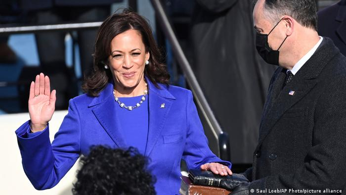Нова віцепрезидентка США Камала Харріс