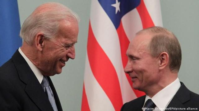 Biden says Putin is a killer and ′will pay a price′ for election  interference | News | DW | 17.03.2021
