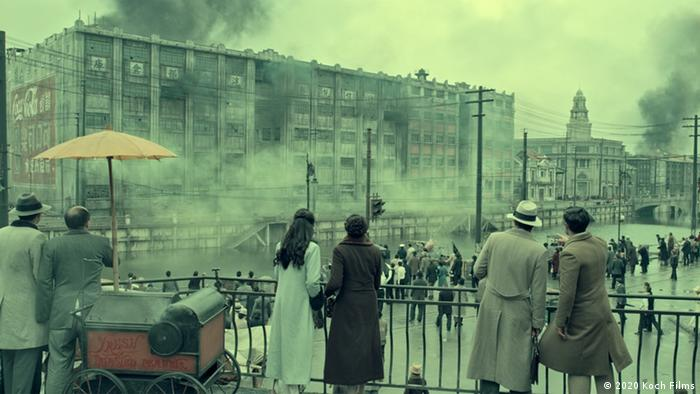 Film still from The Eight Hundred.
