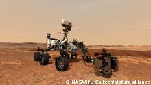 Illustration   NASA Marsmission   Perseverance-Rover