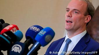 İngiltere'nin görevden alınan Dışişleri Bakanı Dominic Raab
