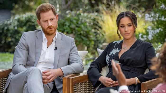 Harry ve Meghan'dan Kraliyet ailesine ″ırkçılık″ suçlaması | DÜNYA | DW |  08.03.2021