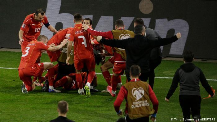 WM-Qualifikation I Deutschland - Nord Mazedonien   Tor