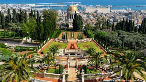 Israel, Haifa | Bahaha'i World Garten