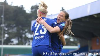 Chelsea celebrate another goal