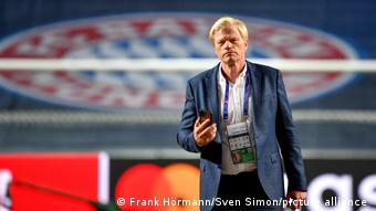 Future Bayern boss Oliver Kahn