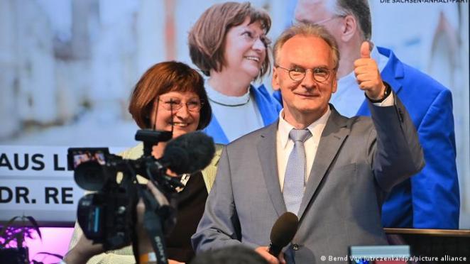 Saksonya-Anhalt Eyalet Başbakanı Reiner Haseloff