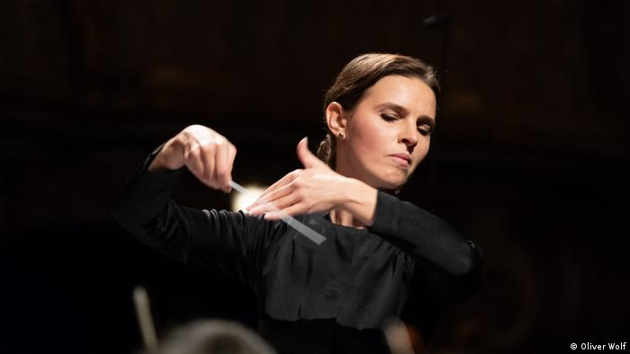 Conductor Oksana Lyniv.