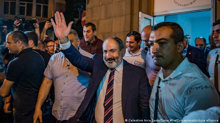 Armenien Parlamentswahlen Nikol Pashinyan Sieger