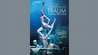 DVD cover of the Hamburg Ballet's A Midsummer Night's Dream film.