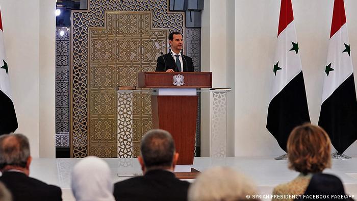 Syrien Machthaber Assad tritt vierte Amtszeit an
