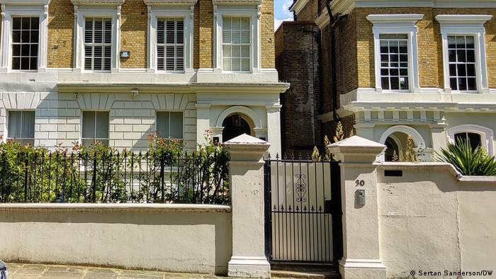 Amy Winehouse's home in Camden Square