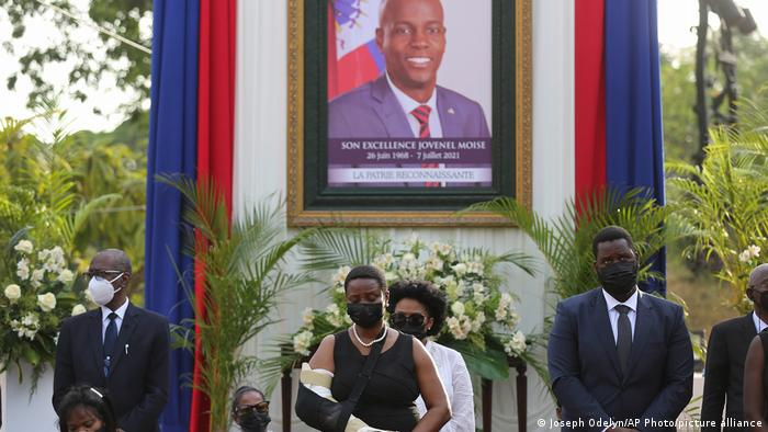Haiti Ermordung Präsident Moise Witwe First Lady Martine Moise