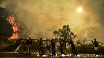 Πυρκαγιές στην Τουρκία