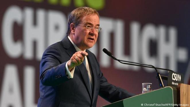 CDU/CSU'nun başbakan adayı Armin Laschet