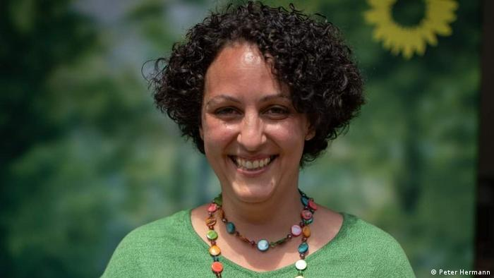 Candidate for the Bundestag for the Greens, Yasmine Attia