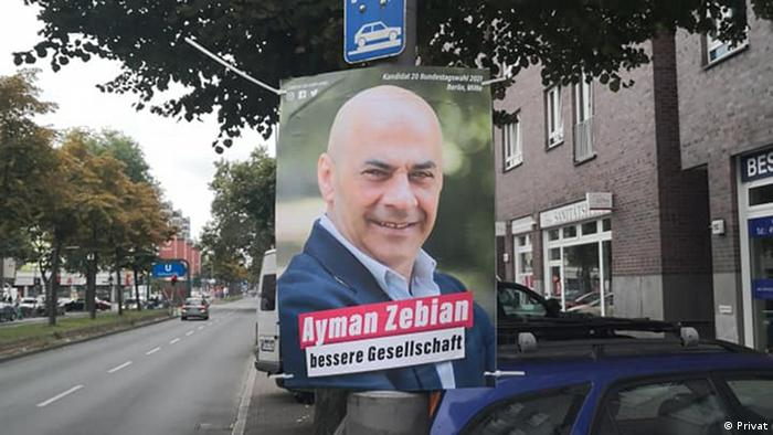 Candidate for the Bundestag, Ayman Thebian