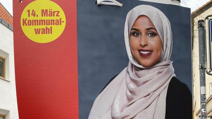 Noha Sharif, candidate for the Bundestag for the Left Party