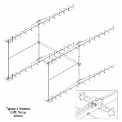 M2 Antennas 2MXP32 2 Meter Dual Polarity Beams 2MXP32