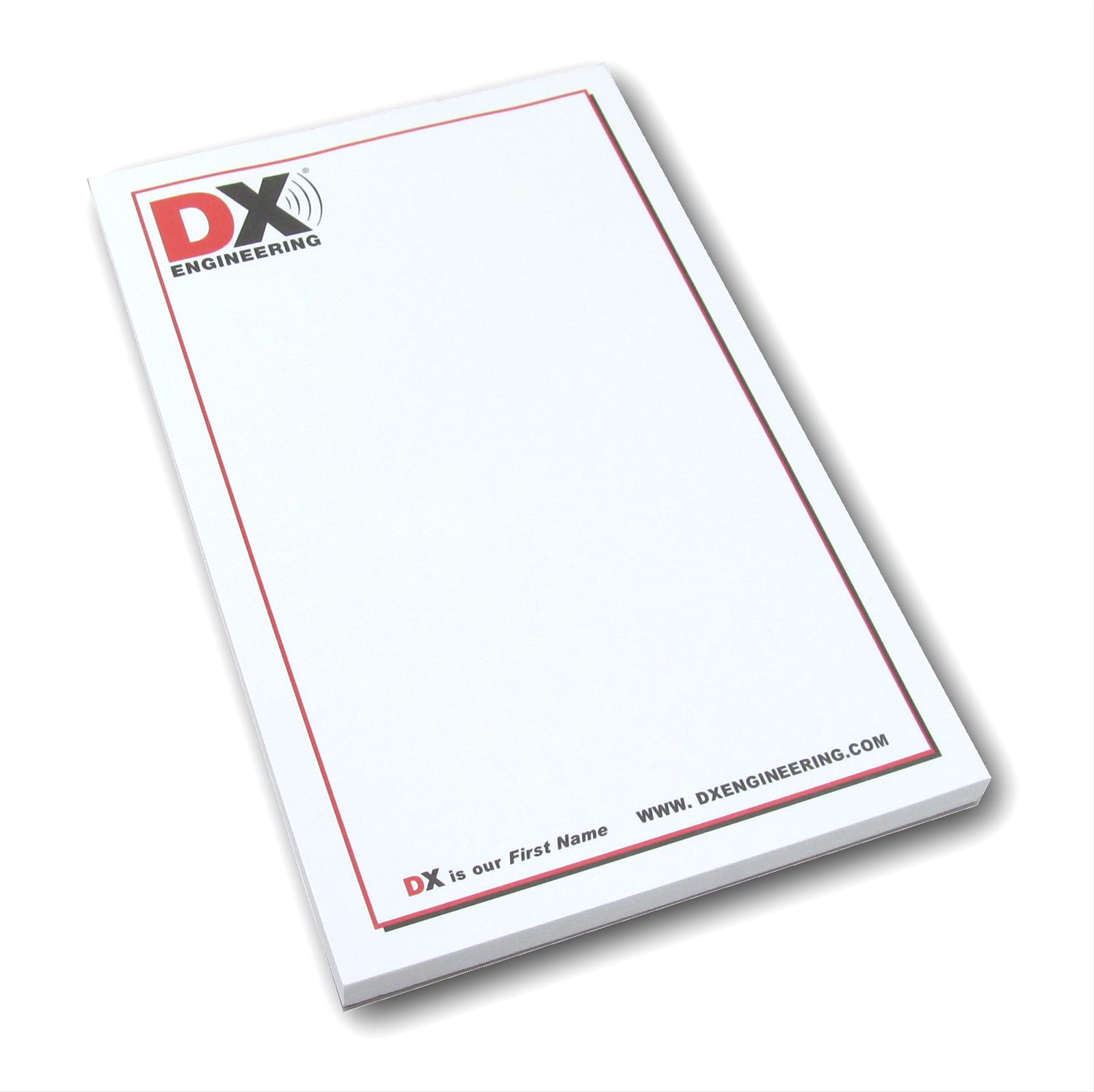 Dx Engineering Note Pads Dxe Notepad