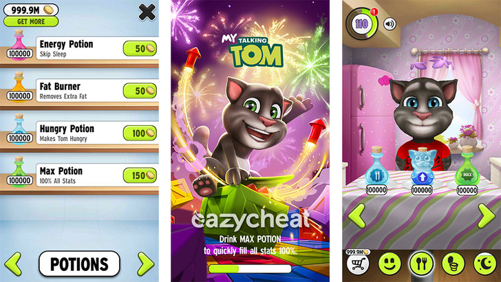 Hotel Rom: My Talking Tom Cheats