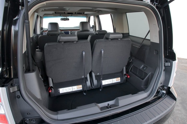 2009 Ford Flex: The Problem With Rear Seat Captain's Chairs