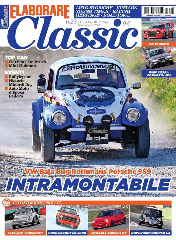 Elaborare Classic, the magazine of vintage historic classic cars