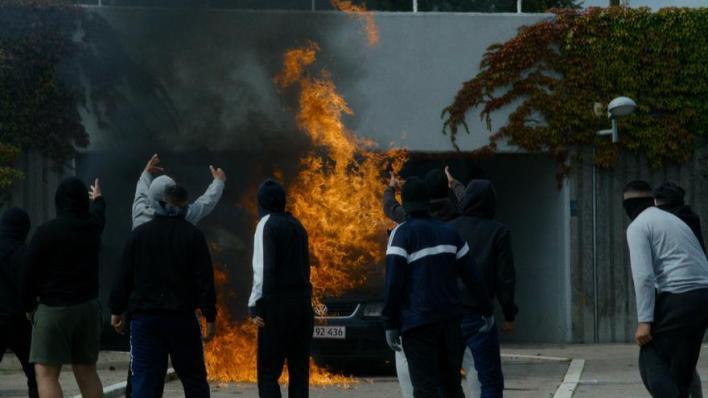"""La brutalidad policial a examen en el thriller danés """"Shorta"""""""