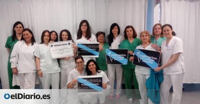 """La Xunta indigna a las enfermeras eventuales gallegas al """"exponer datos personales"""" de una de ellas en televisión"""