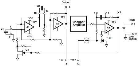 Accurate Sine Wave Generator Circuit Schematic Diagram