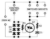 Flavio plugs into smart extension sockets