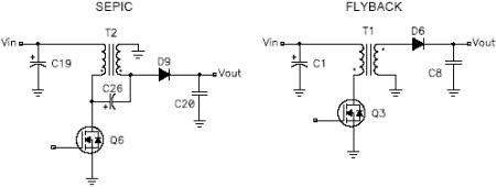 Power supply topology: SEPIC vs Flyback
