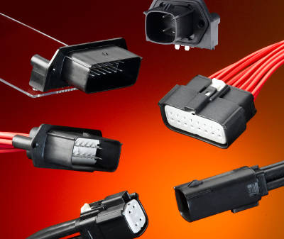 IP67 connectors are tough for industry and vehicles