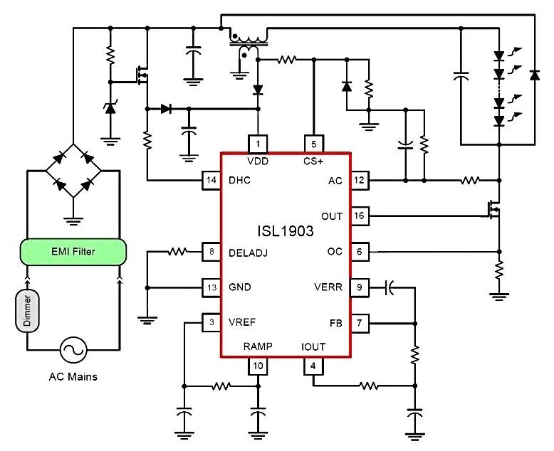 led dimming circuit
