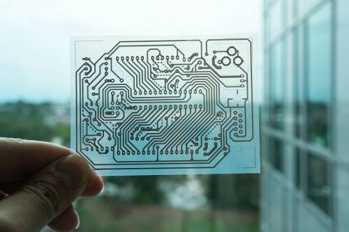PCBs can be inkjet printed on a normal printer