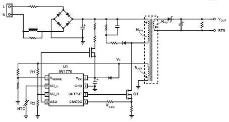 Five modes increase mains PSU efficiency across the board