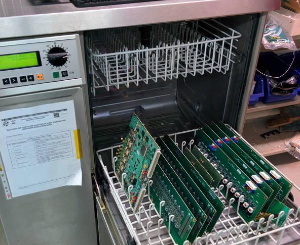 CERNs alternative PCB washer