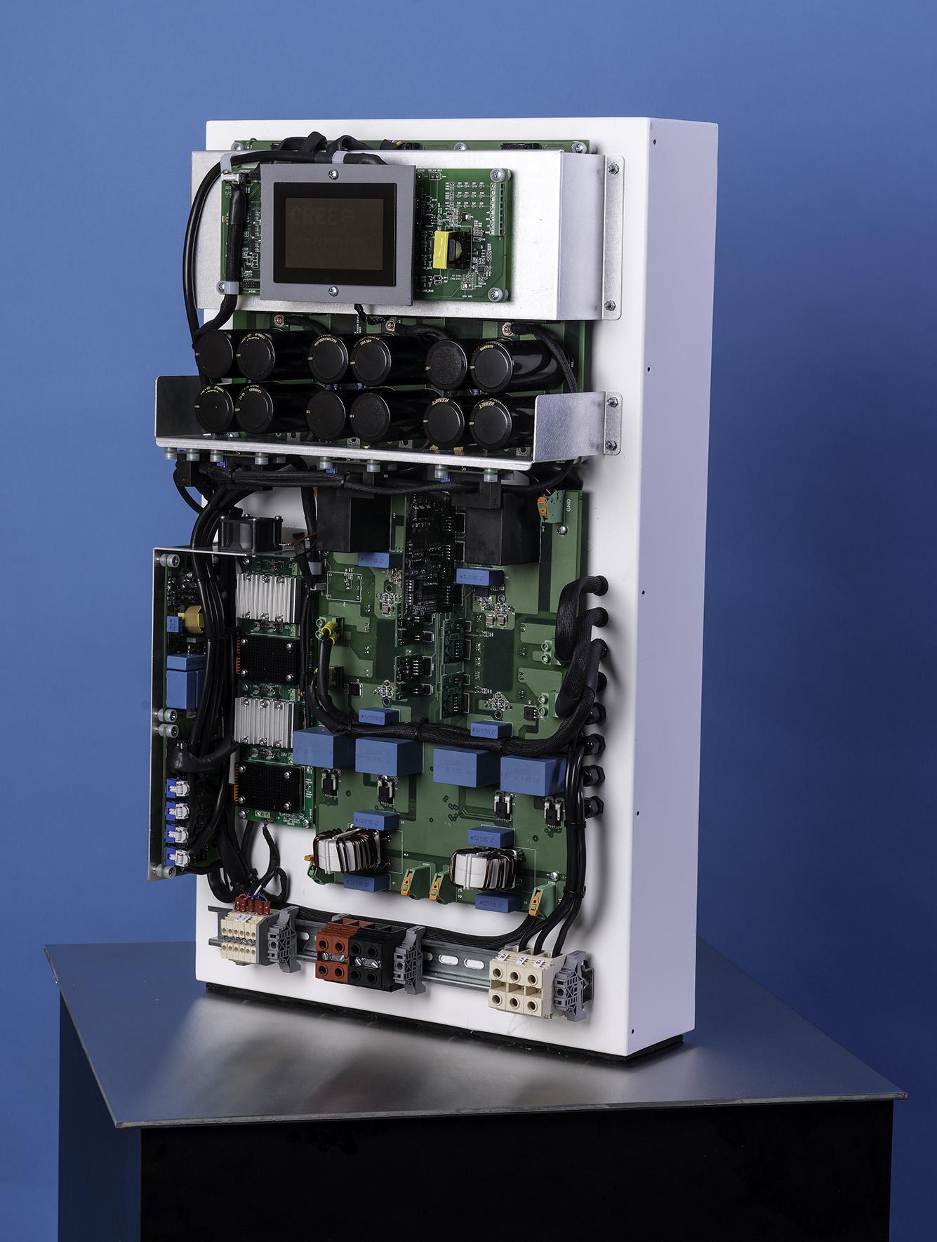 PCIM SiC makes 991 efficient solar inverter