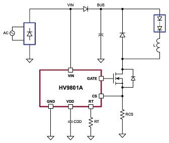 Simple LED lighting chip offers switch dimming