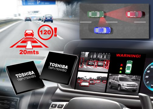 oshiba Expands Family of Image Recognition Processors