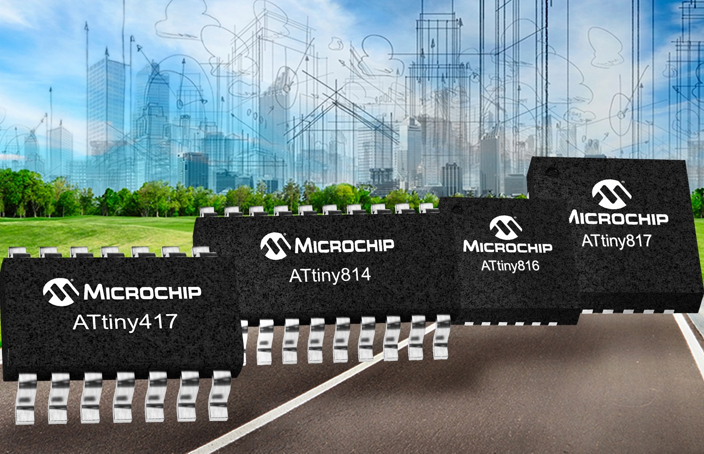 Electronica Microchip unites PIC and AVR with 8bit tinyAVR MCUs
