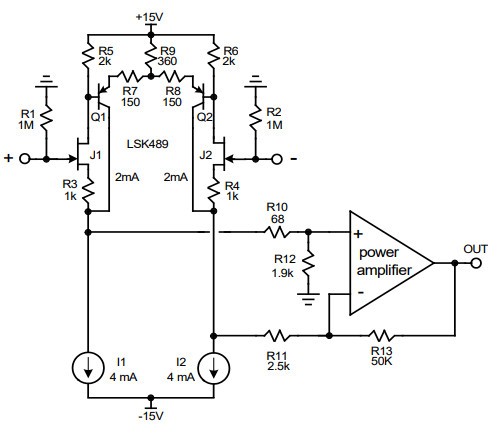 Another neat fet amplifier app note