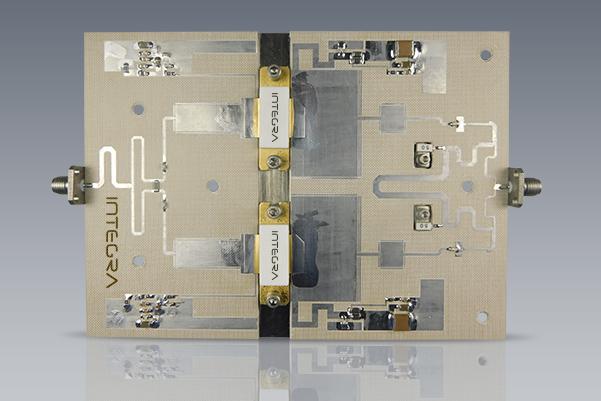 GaNonSiC RF power amplifier module
