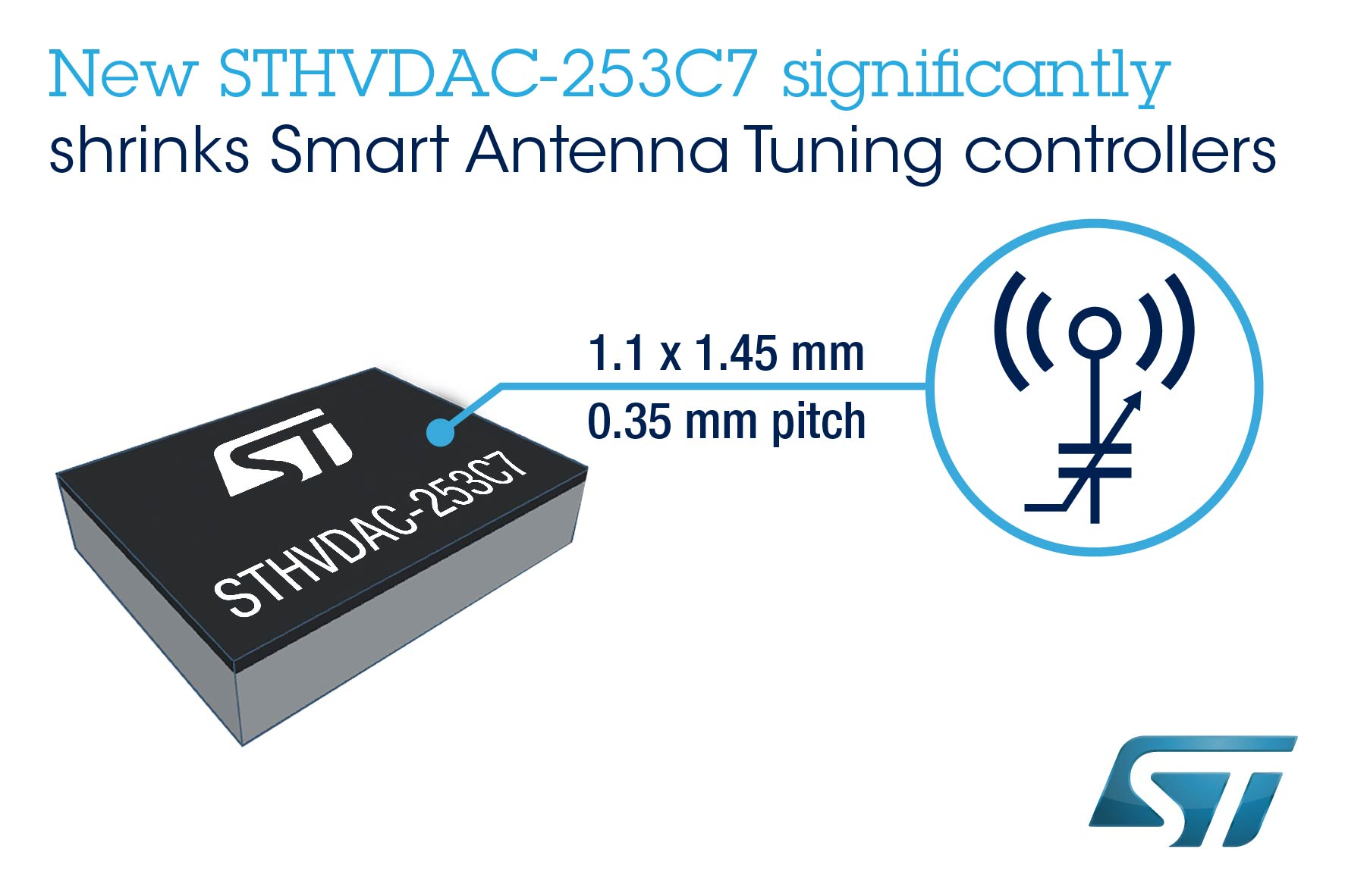 ST shrinks antennatuning circuits