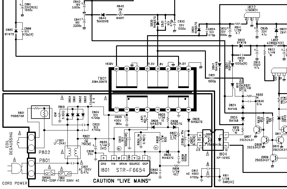 Daewoo DTZ-29U3K CP-520F przestał działać podczas pracy.