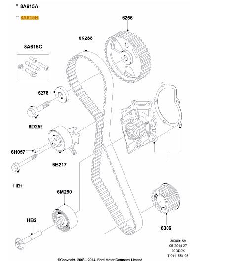 Ford S Max 2.0 TDCI 136km, 2008 r. bez DPF rozrząd