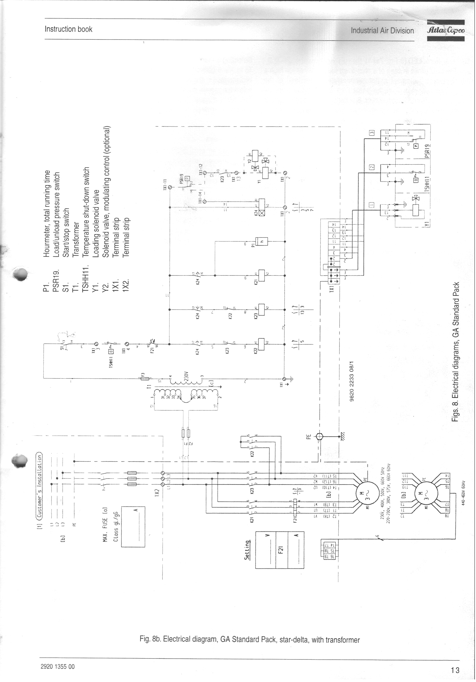 atlas copco ga 22 manual