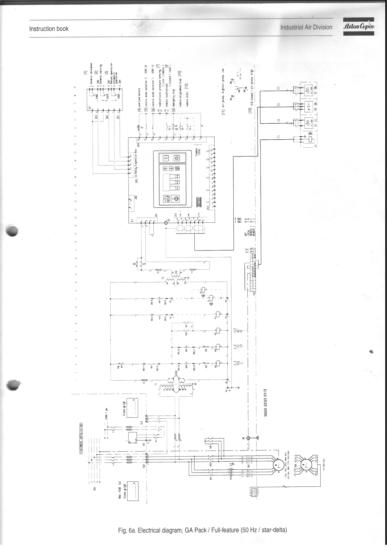 Atlas Copco U6 Operation Manual