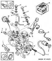 Peugeot 306 1.9 TD nie odpala, pompa nie podaje paliwa.